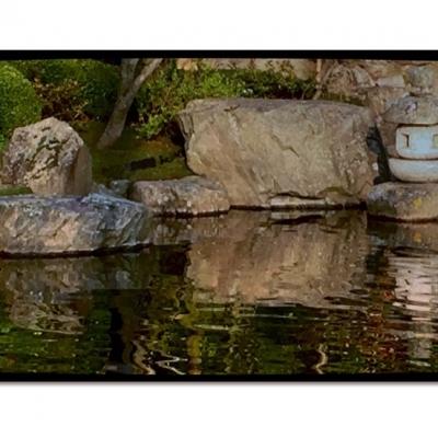 Reflection Pond & Oki-dōrō Lantern