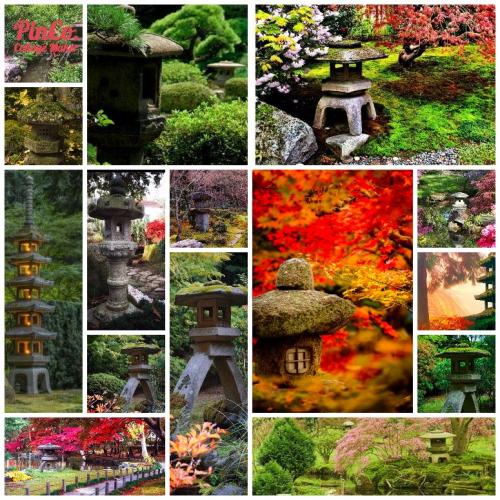 Stone Lanterns - Pinterest